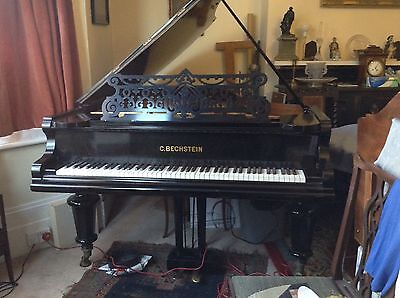 Bechstein Grand Piano Model V Black 6'7""