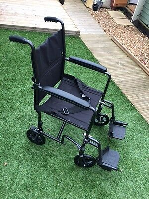 Lightweight AluLite Portable / Travel Wheelchair (Care CO)