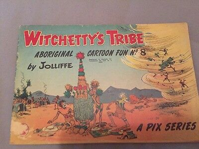 Witchetty's Tribe No. 8 - Rare Comic By Jolliffe