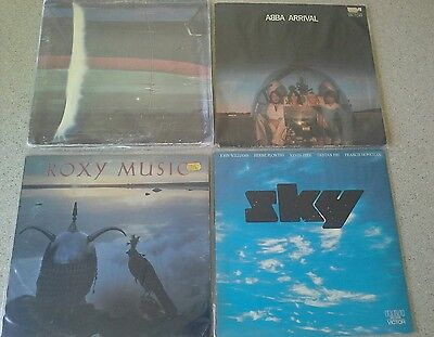 Bulk Collection of 10 Vinyl  LP Records. Various Artists 1970. Good condition.