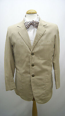 1960s Light Weight Cream Summer Jacket