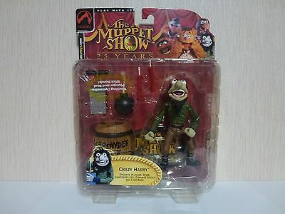 Muppets Palisades Action Figure. Crazy Harry Dynamite Bomb