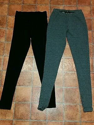 2 Lovely Womens TOPSHOP / New Look Leggings Size 6
