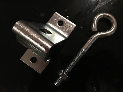 garage door tilt door parts heavy duty hook and catch 250J 250T Jamb Track type