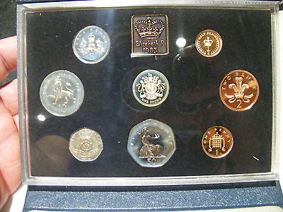 Coinage Of Great Britain Northern Ireland 1983 Year Set Proof Coins Mint Unc