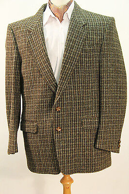 Brown Harris Tweed Jacket - Chest 42 Short