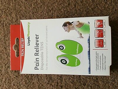 Disposable tens machine