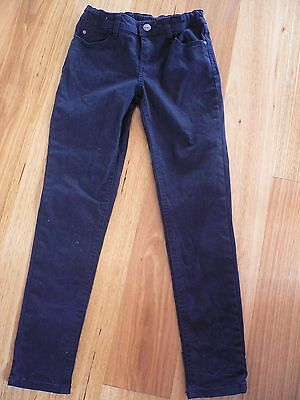 Target Black Stretch Jeans With Elasticised Waist - Sz 9 - Nwt