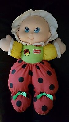 playskool doll 1997 childs first  soft toy doll vintage!