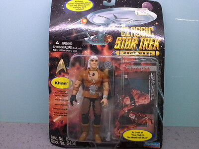 playmates star trek khan figure from the wrath of khan movie