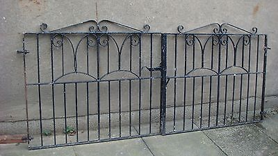 8 ft Wrought iron  drive gates