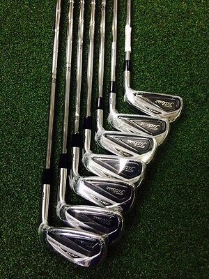 Titleist 716 Golf Iron Set, AP2 4-PW, AMT S300 Steel Shafts, Brand New