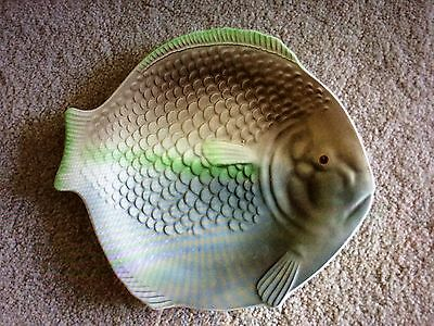 SHORTER & SONS 9 INCH FISH PLATE x 4