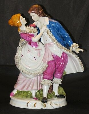 Large Colonial Lovers Figurine