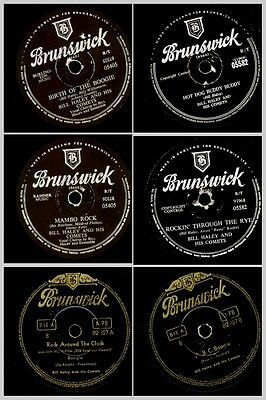 3X BILL HALEY & HIS COMETS -seine großen R&R Hits- Rock around the clock  Set618