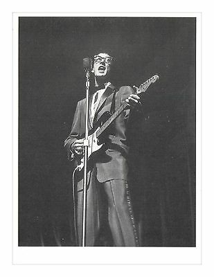 Buddy Holly Rock 'N' Roll Legend - V & A Theatre Museum Reproduction Postcard