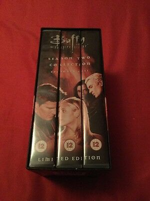 Buffy The Vampire Slayer Season 2 Part 1 Episodes 1-11 Limited Edition VHS Tapes
