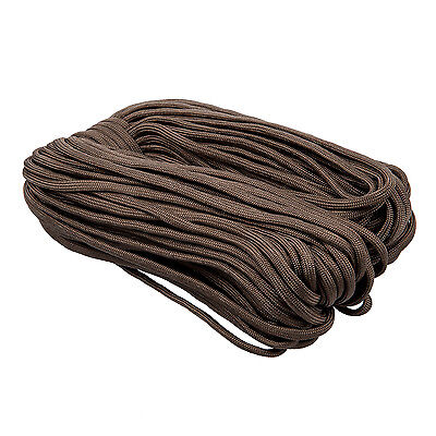 100ft 550 Cord Para cord Parachute Survival Cord - Coyote Brown  B9G5