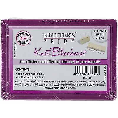 Knitter's Pride Knit Blockers & Pin Kit