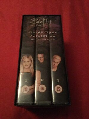 Buffy The Vampire Slayer Season 4 Part 1 Episodes 1-11 VHS Tapes