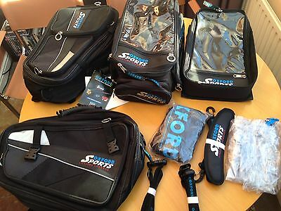 Oxford Sports Lifetime Motorcycle/Motorbike Luggage. Tank Bag and Panniers.