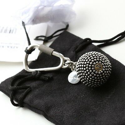 Paul Smith Metal Ball Keyring Keychain With Pouch Bnwt (Wallet Bag)