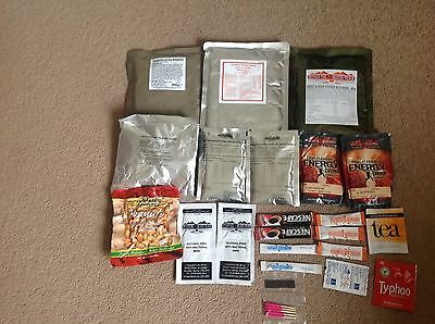 X22 Bundle MOD British Army Issue 24HR Ration Survival Packs Joblot Camping