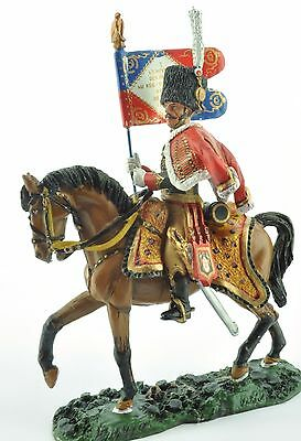 Del Prado King & Country Standard Bearer, French Chasseurs of the Guard - 1808