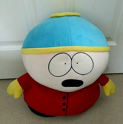 """Official South Park Cartman 15"""" Plush Soft Toy Used"""