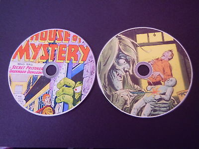COMPLETE HOUSE OF MYSTERY & SECRETS COMICS on 2 DVDs GREAT STORIES AND ARTWORK