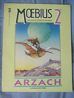 Moebius 2: Arzach - The Collected Fantasies of Jean Giraud