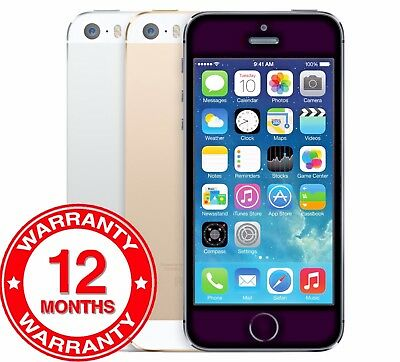 Apple iPhone 5s - 16GB 32GB - Unlocked SIM Free Smartphone Various Colours