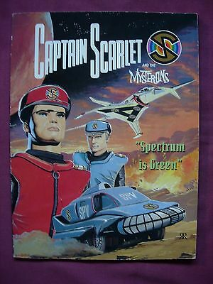 Captain Scarlet Mysterons Spectrum is Green Ravette Book 1993 1st Edition FN/VFN