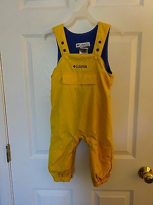 Fleece Lined Bibs by Columbia Infant size 18 months EUC