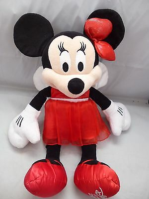Disney Store - Christmas Fairy Plush - Large Minnie Mouse - Dated 2012