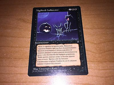 Mtg - Vigilia Di Halloween In Italiano - Leggende Cond Nm