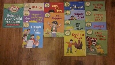 Oxford reading tree- biff, chip and kipper books.