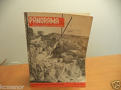 1948 Panorama Burlington Vermont's Magazine of Interests Rock of Ages Quarry