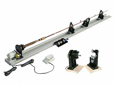 American Tackle Power Fishing Rod Wrapper Kit W/Dryer 220V Rod Building  From UK