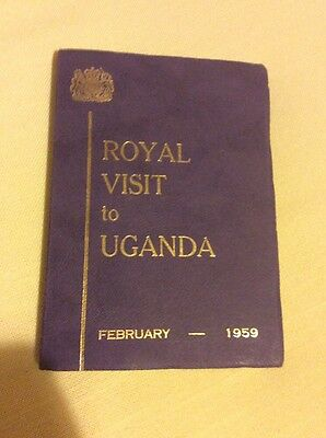 Royal Visit To Uganda February 1959 Book Her Majesty The Queen Mother