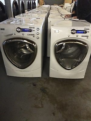 General Electric Front Load Washer and Gas Dryer!  (Domestic no coin boxes)
