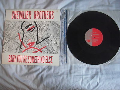 """CHEVALIER BROTHERS Baby You're Something Else Die Before I Go Bald 12"""" DCGT01"""