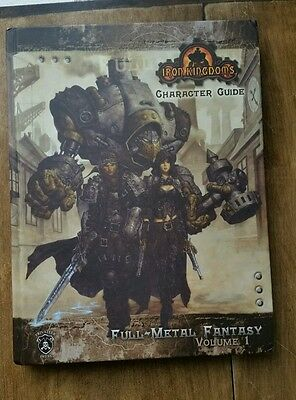 Privateer Press Warmachine Iron Kingdoms Character Guide Hardback Volume 1 Book