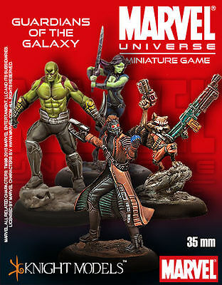 Guardians of the Galaxy: Marvel Universe Tabletop Miniatures Game: Knight Models