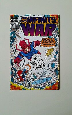 The Infinity War  # 3 Aug 1992  Excellent Condition   F8