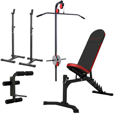 Banc + Equipement Mh-Z170 Marbo-Sport Poste Multi Gym Home Musculation Station
