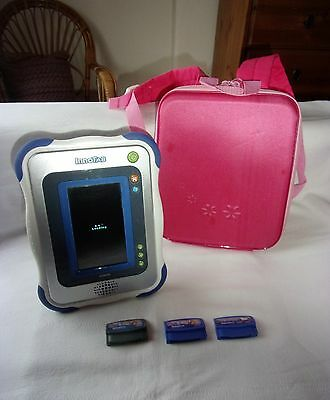Vtech innotab with pink case & 3X Games KIDS LEARNING TABLET