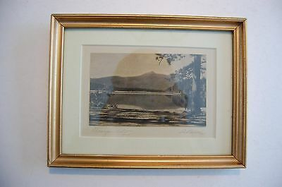 Antique Hand-color Photo LeBusch 'Tranquility'