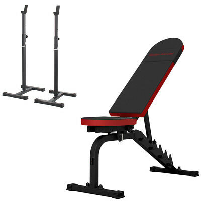 Banc + Equipement Mh-Z177 Marbo-Sport Poste Multi Gym Home Musculation Station