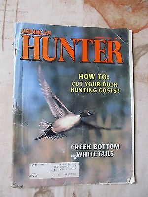American Hunter Sporting Magazine January 1982